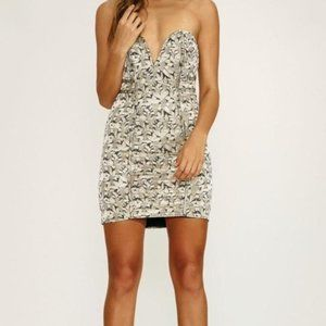 LOVERS + FRIENDS Floral Body Con Dress